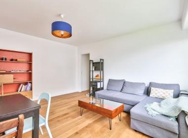 Séjour - Paris 20ème métro Ménilmontant - Boulevard de belleville - appartement à vendre avec PropriLib, l'agence immobilière à commission fixe