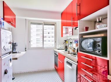 Cuisine - Chambre 1 - Paris 20ème Ménilmontant - appartement à vendre avec PropriLib, l'agence immobilière à commission fixe