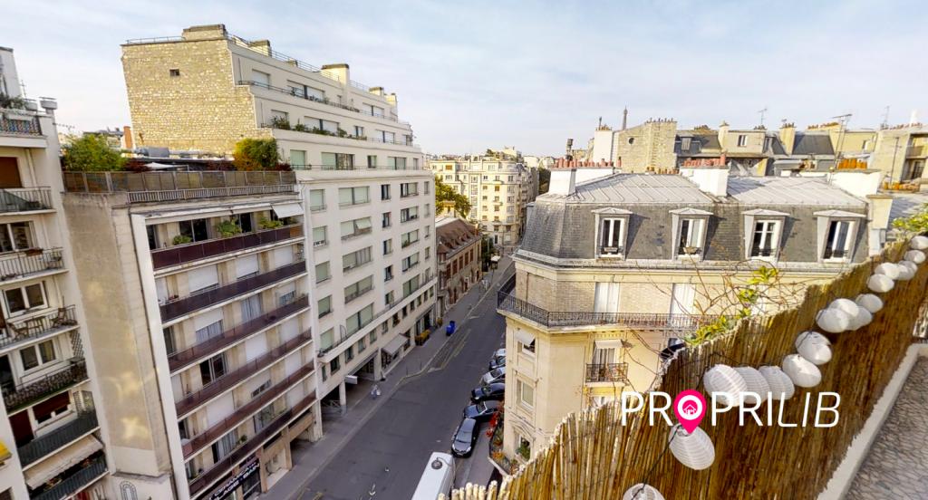 Appartement à Paris 16ème et congé pour vente