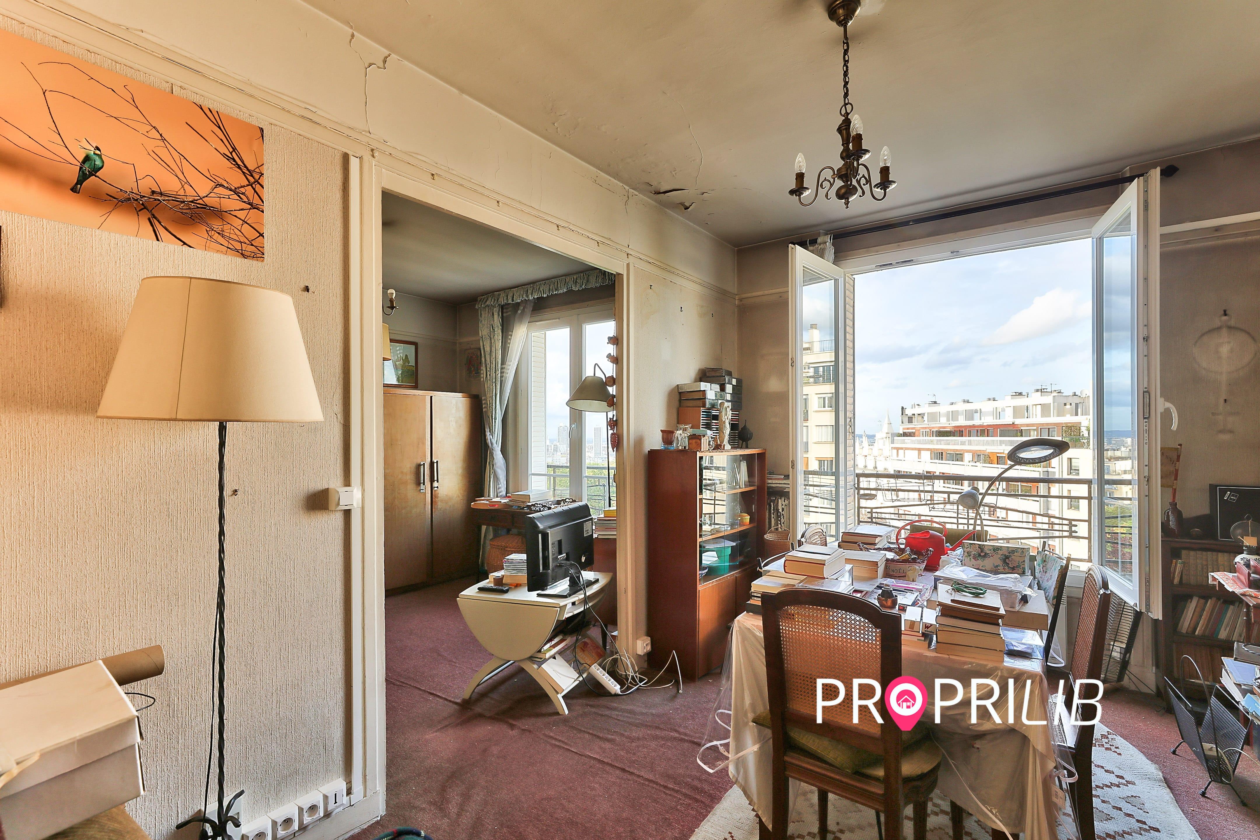 PropriLib l'agence immobilière sans commission vend cet appartement à Paris 19 ème