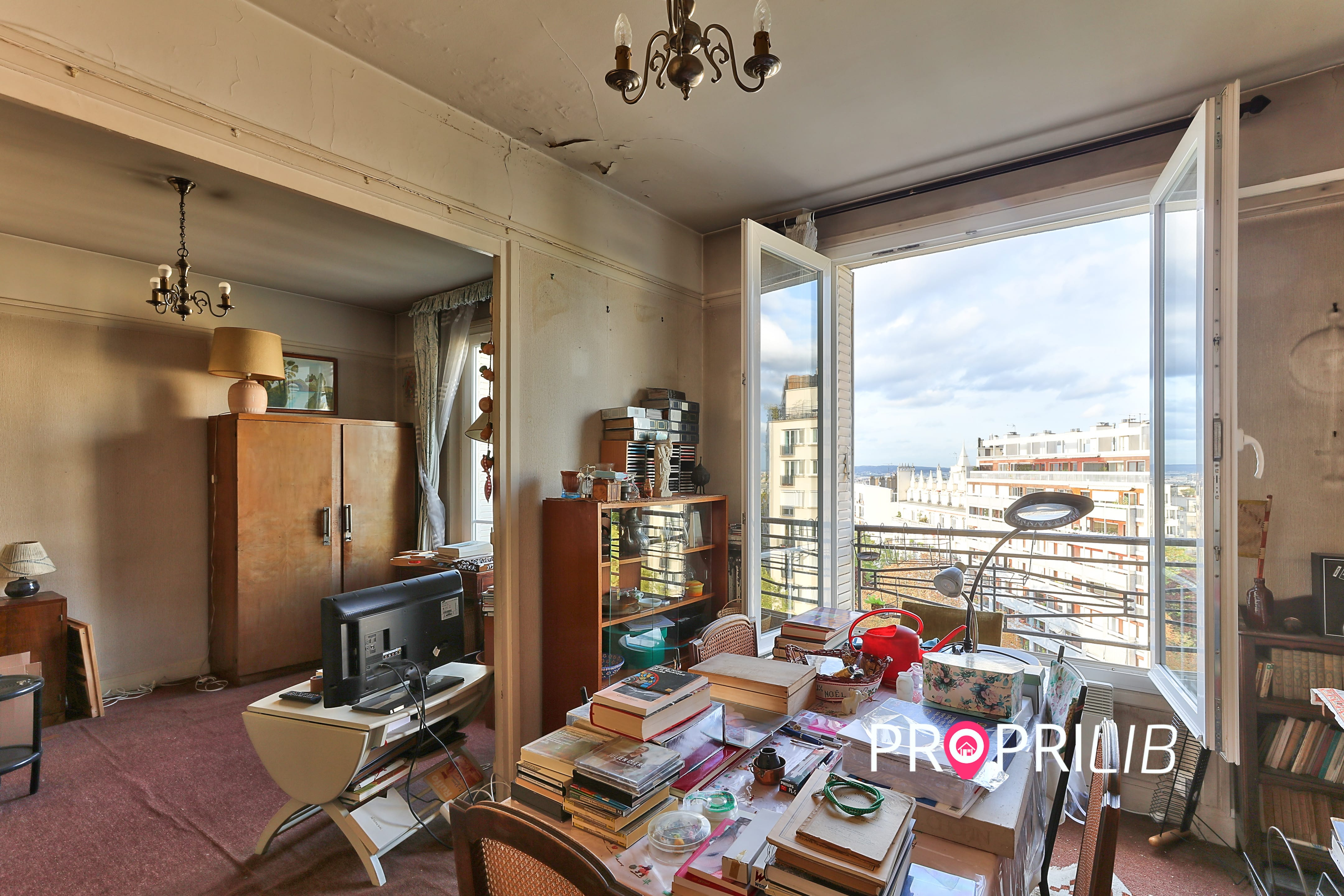PropriLib l'agence immobilière en ligne à prix fixe vend cet appartement à Paris 19 ème