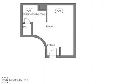 Proprilib Vente Studio 17ème arrondissement