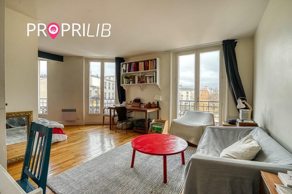 PropriLib l'agence immobilière sans commission vend cet appartement à Paris 18 ème