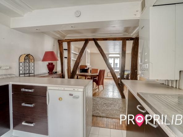 PropriLib l'agence immobilière en ligne à prix fixe vous propose cet appartement à Paris 5 ème