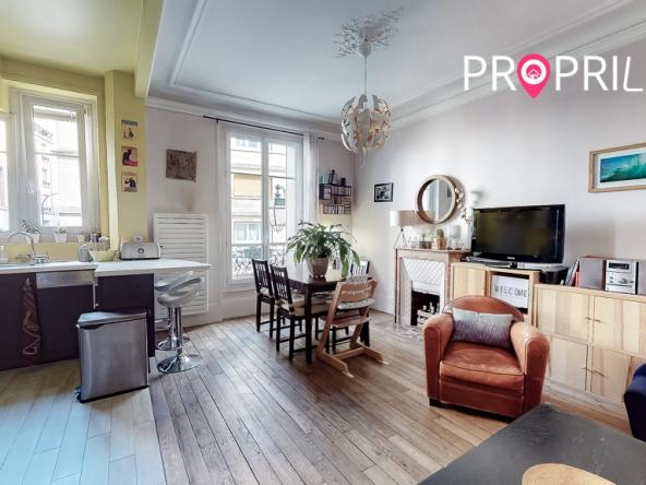 PropriLib l'agence immobilière en ligne à prix fixe vend cet appartement à Asnières-sur-Seine