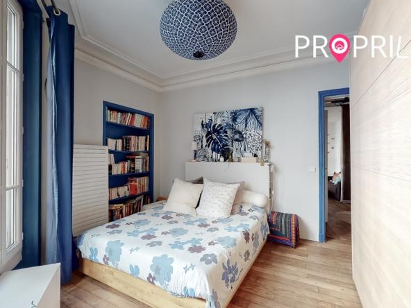 PropriLib l'agence immobilière en ligne vend cet appartement à Asnières-sur-Seine