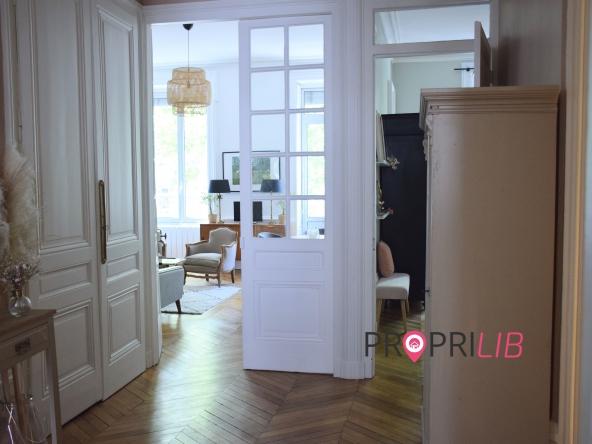 PropriLib l'agence immobilière sans commission vous propose  cet appartement à Lyon 3 ème