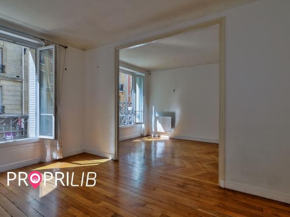PropriLib l'agence immobilière en ligne à commission fixe vous propose cet appartement à Paris 14 ème