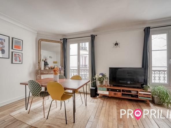 agence immobilière au forfait à Paris 9ème - Blanche