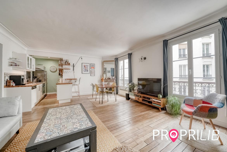 Vente immobilière à Paris 9ème